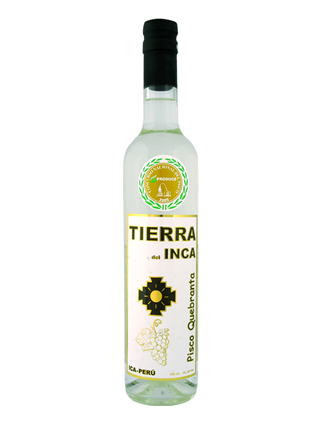Pisco Quebranta - Tierra del Inca 500 ml